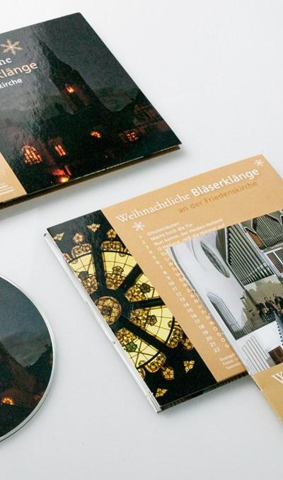 Posaunenchor CD Gestaltung
