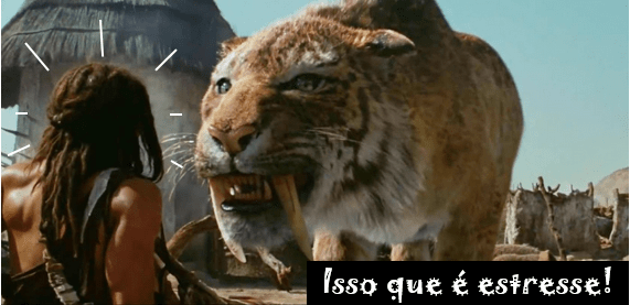 Tigre dentes de sabre