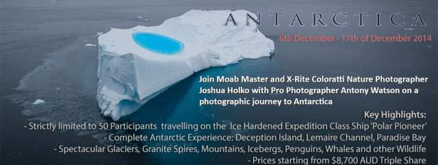 Antarctica Photography Expedition Workshop Tour