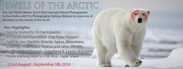 Arctic Photography Expedition Workshop Tour