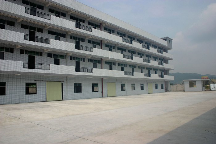 Dormitories at the new Huizhou Facilities