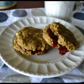 PB & J Cookies An Unrefined Vegan