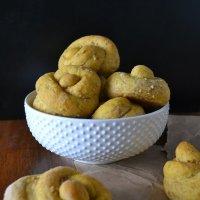 Cracked Wheat-Pumpkin Top Knots