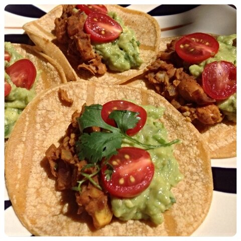 Easy Guacamole & Refried Beans Rubber Cowgirl
