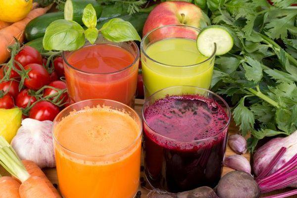 いろいろな野菜ジュース