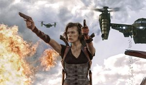 RESIDENT EVIL RETRIBUTION, a movie where I have never known more about what is not going on.