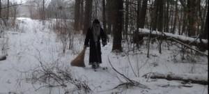 Krampus walking the frozen wasteland!!