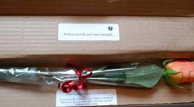 A Sweet Gift from Personalized Flowers