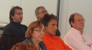 Marta Rodlan (Vice Chair of the Action), Jose Antonio Fernández Perez and Jean Marie Thiercelin: key people in saffronomics