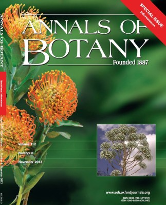 Inflorescences issue cover