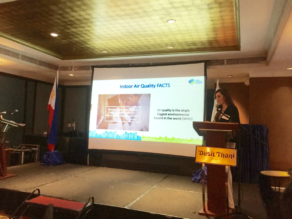 Karen Ibasco spreading awareness towards Indoor Air Quality