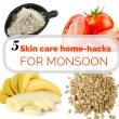 Monsoon homemade facepacks