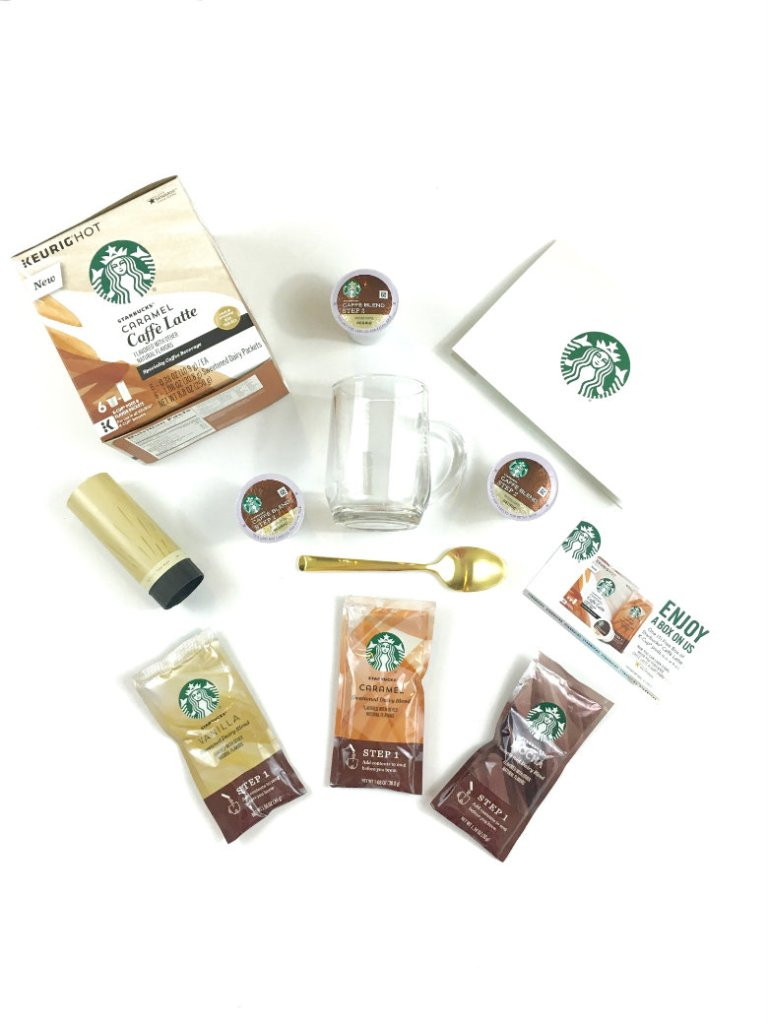 How to Make a Starbucks® Gift Basket