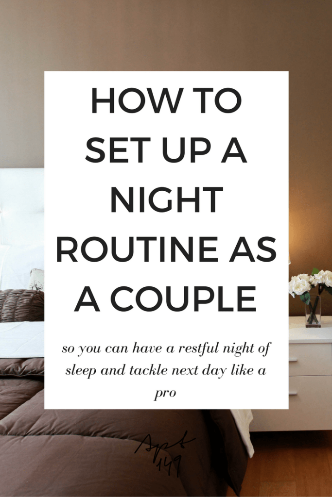 How to Create A Night Routine as a Couple