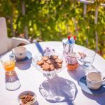 Breakfast on the terrace. Enjoy the mild morning sun, fresh air and birdsong