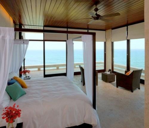 beach house interior
