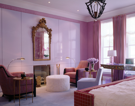 hbx-jamie-drake-pink-bedroom-chairs-house beautiful