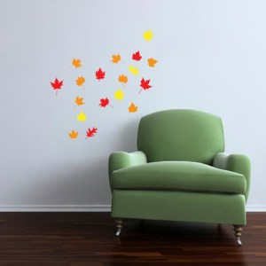 fall leaf wall decor 2