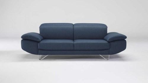 natuzzi blue sofa