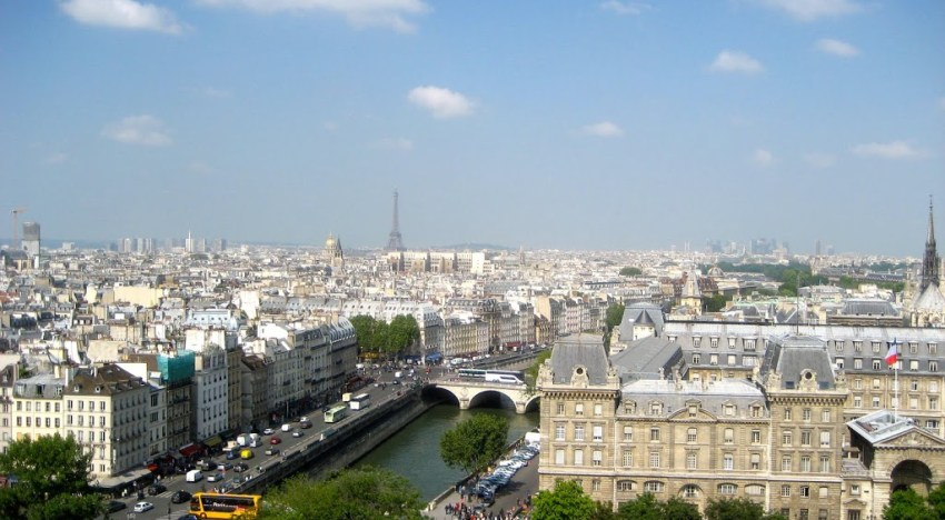 Paris, The City of Lights