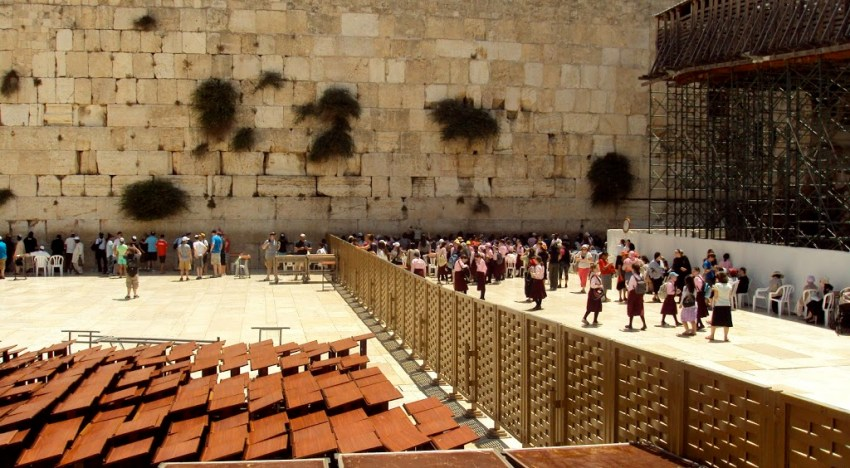 The Two Sides to the Western Wall