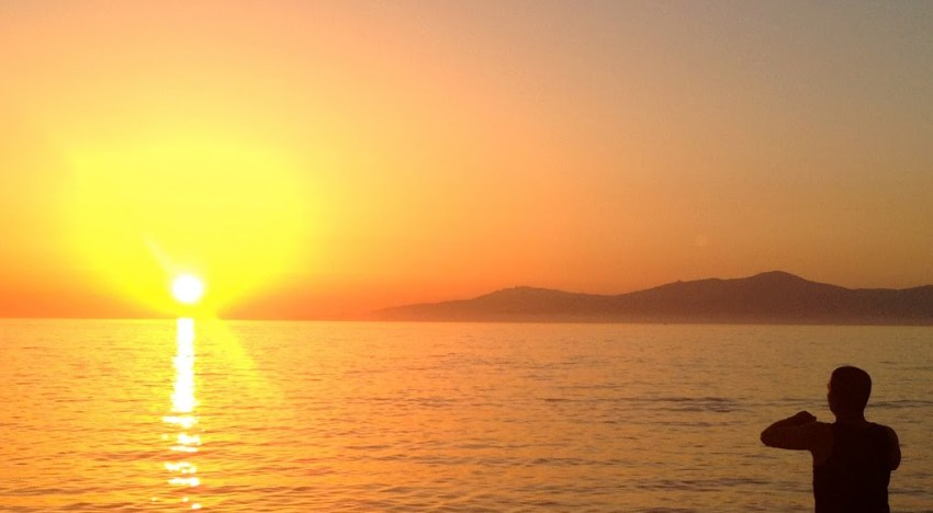 S is for SANTORINI SUNSETS and Others Almost as Stunning