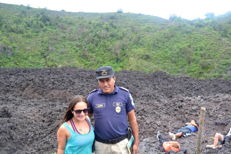 hiking pacaya volcano guatemala