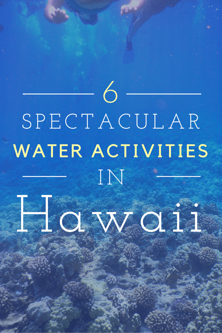 water activities in hawaii