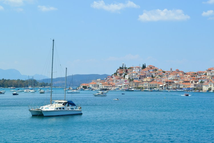 Sailing to THREE Greek islands in One Day from Athens >> By far a favorite day trip of mine! Learn about the logistics (plus lots more photos) here!