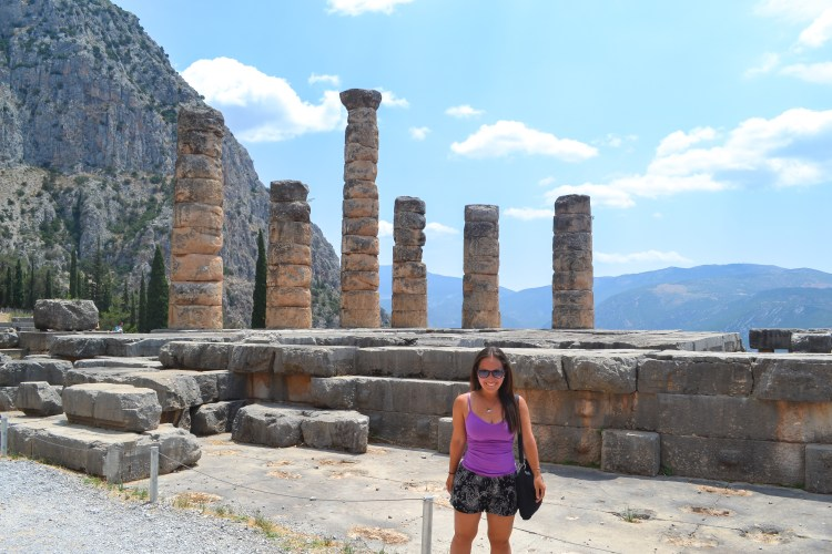 Top tips for visiting the beautiful Delphi, Greece! A great day trip from Athens! So much history here!