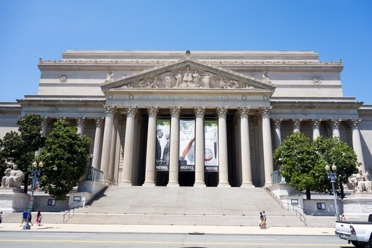 National Archives Washington DC