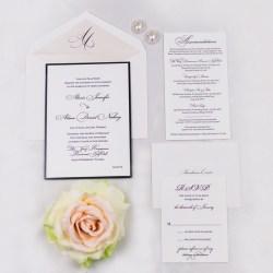 Flossy Black Wedding Invitations Designs Wedding Invitations Templates Wedding Invitations Australia
