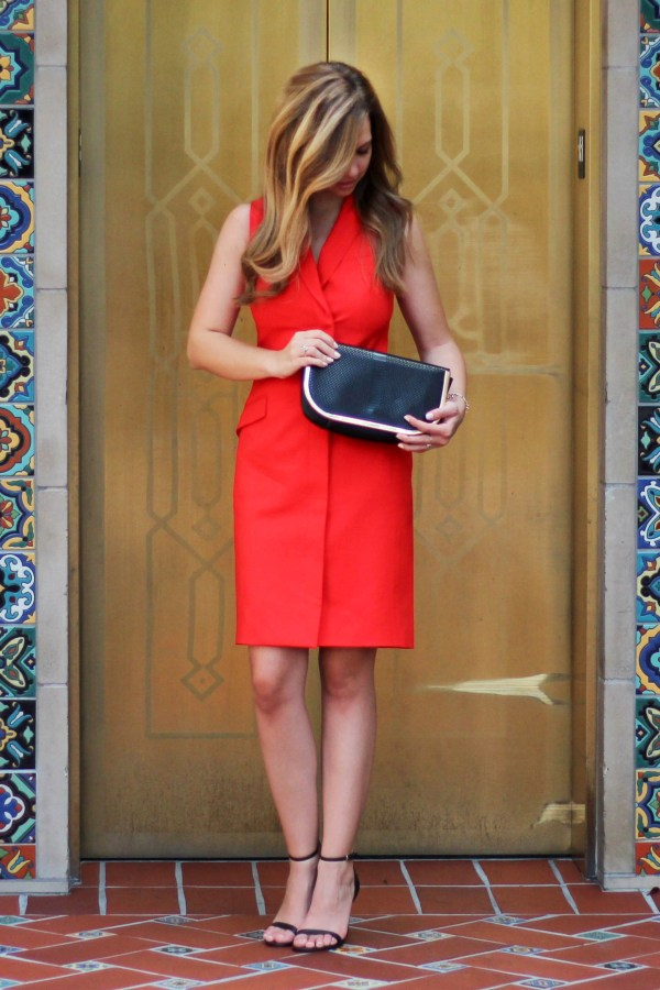 Structured Red Dress_3