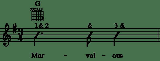 GGTOSins Measure 1 Rhythm