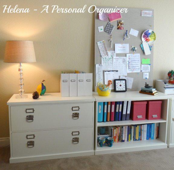 home office organization ideas a personal organizer Helena Alkhas