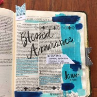 Journaling Bible   Blessed Assurance