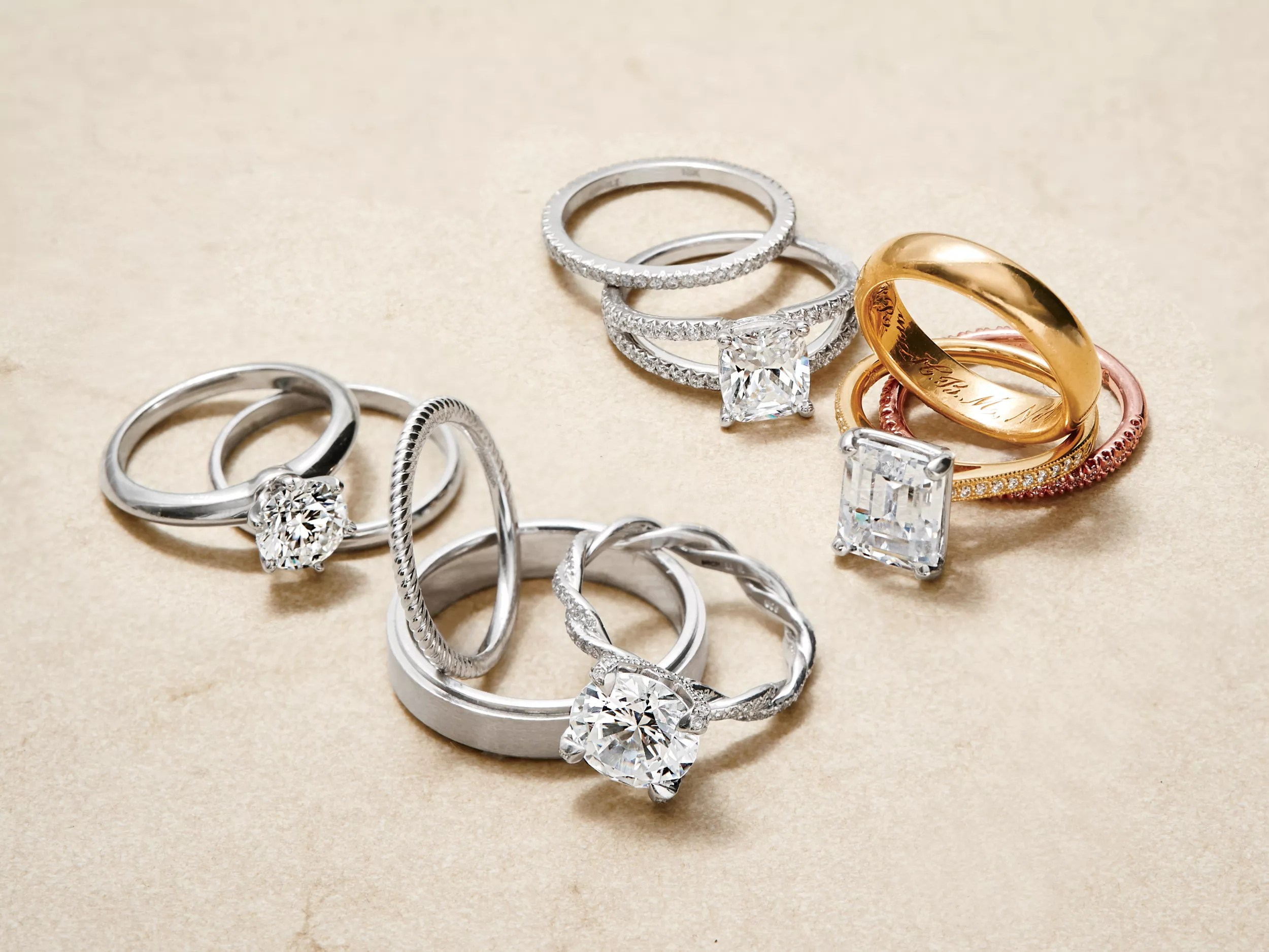 rules for choosing your wedding bands couples wedding bands