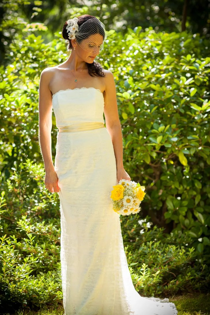 a yellow backyard wedding at a private residence in maple valley washington album backyard wedding dresses c be0a e rs