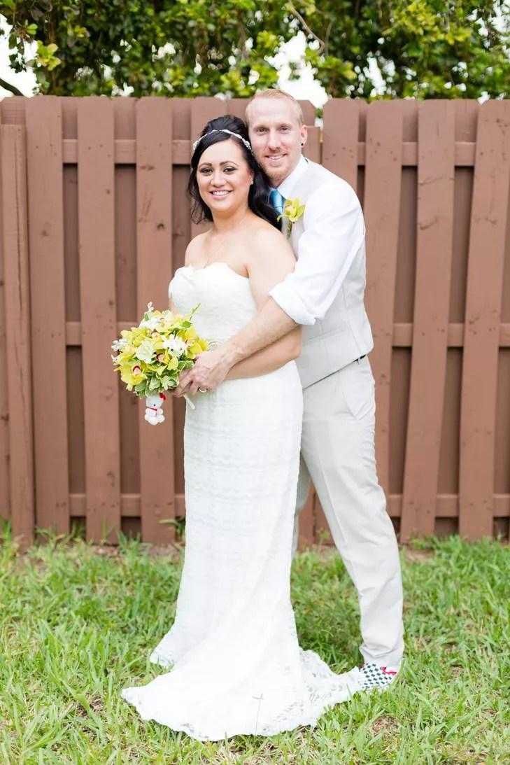 a surprise rustic backyard wedding at a private residence in lauderhill florida album backyard wedding dresses A Surprise Rustic Backyard Wedding at a Private Residence in Lauderhill Florida