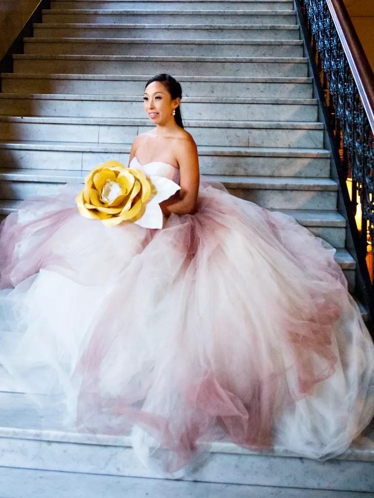 light pink wedding dresses blush pink wedding dresses The Prettiest Blush And Light Pink Wedding Gowns