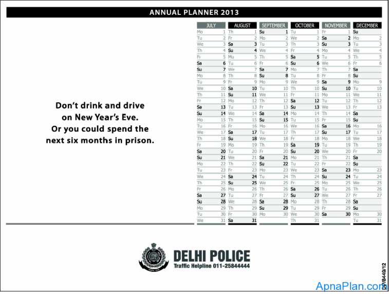 Delhi Police - Don't Drink and drive