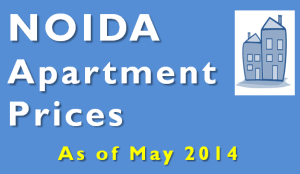 Apartment Price in NOIDA - May 2014