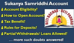 All about Sukanya Samriddhi Account