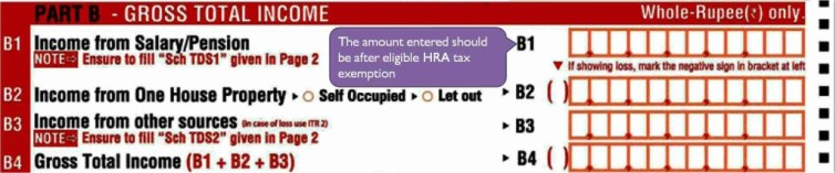 HRA exemption while filing Income Tax Return (ITR)