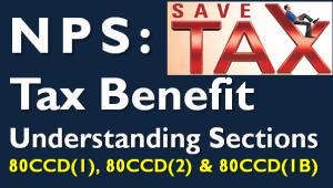 NPS - Tax Benefits