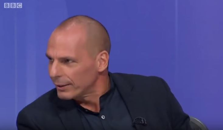 Brexit Department 'Staffed by people of very low IQ' says Yanis Varoufakis on BBC's QT