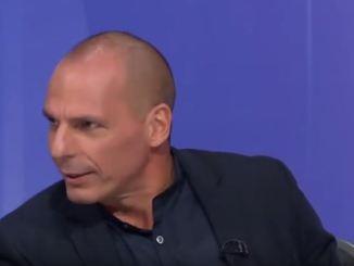 Yanis Varoufakis on Question Time  / BBC