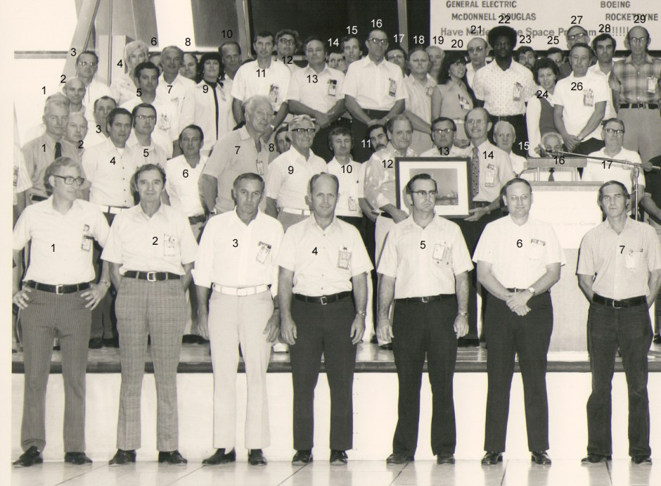 Boeing Contractors, Left side of picture