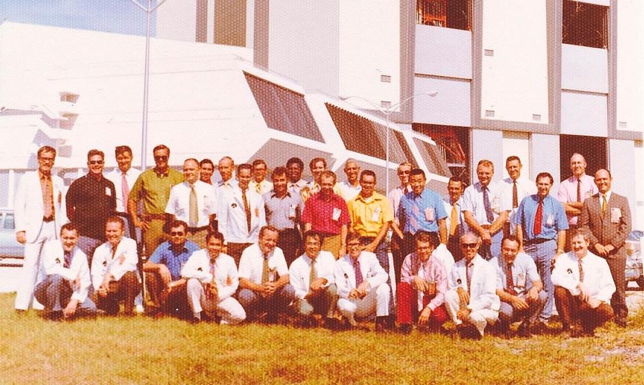 S-II Launch Crew (Rockwell)