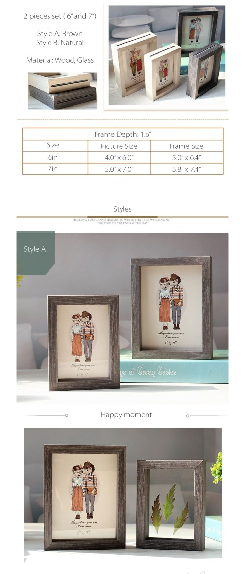 Medium Of Double Sided Picture Frame